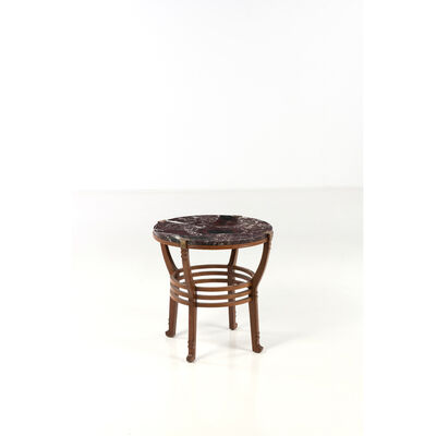 Gustave Serrurier-Bovy, 'Liszt unique piece, Pedestal table'