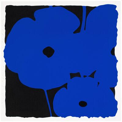 Donald Sultan, 'Poppies, June 6, 2011 (Blue)', 2011