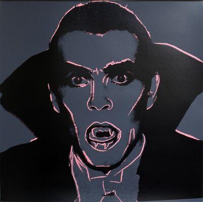 Andy Warhol, 'Myth Portfol- Dracula', 1981