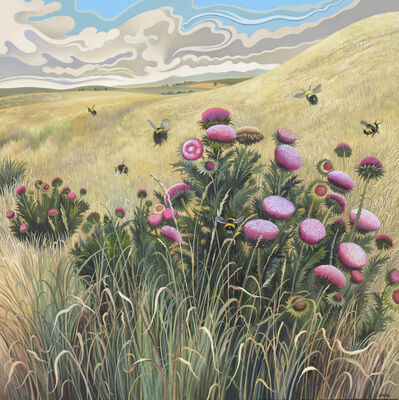 Phyllis Shafer, 'Bumblebee Bouquet', 2018