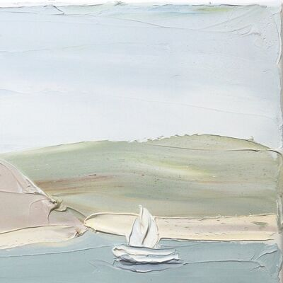 Sally West, 'Pittwater Snappermans Study 2 (7.8.19)', 2019