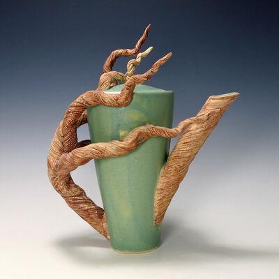 Bonnie Belt, 'Tall Branch Teapot', 2019