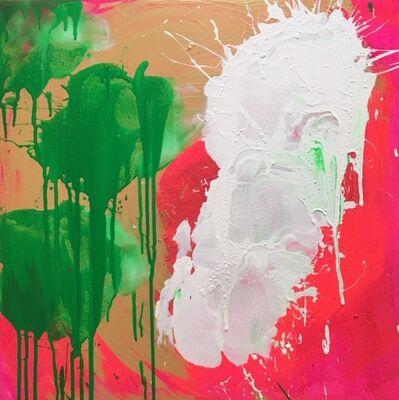 Ushio Shinohara, 'White, Red, Green and Gold', 2018
