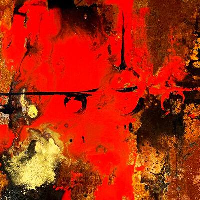 Alessandro Busci, 'Aereo rosso e oro', 2020