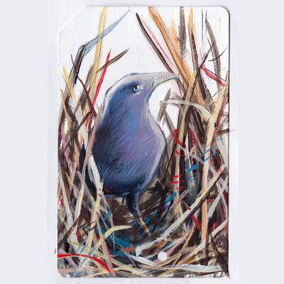 Gigi Chen, 'Metrocard Bird #3', 2017