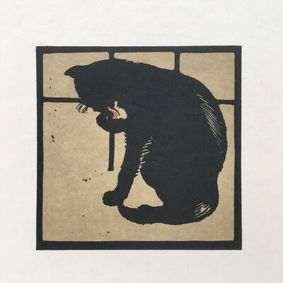 William Nicholson, 'The Un-Common Cat', 1899
