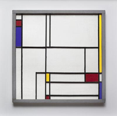 Juan Melé, 'Homenaje a Mondrian', 1948
