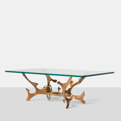 Fred Brouard, 'Sculptural Bronze Coffee Table by Fred Brouard', ca. 1960