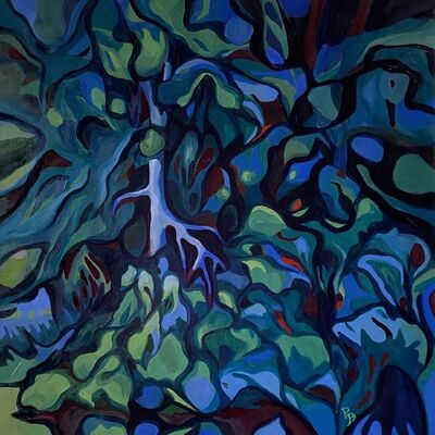 Patty Bryant, 'Hidden Reflection, Retiro park, Madrid', 2020
