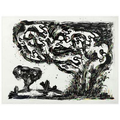 Sorel Etrog, 'Neon Landscape', 1998