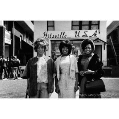 Art Shay, 'The Supremes at Hittsville, USA, 1965', 2017