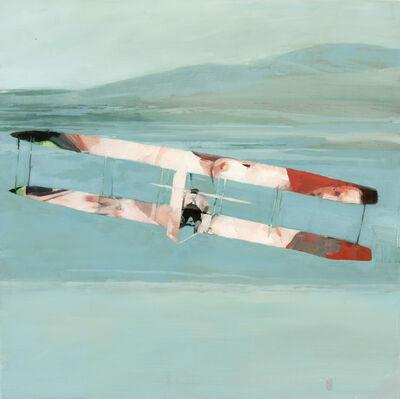 Alex Kanevsky, 'A Nude and an Airplane', 2019