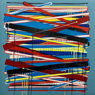 Momies, 'Lignes abstraites #2 ', 2017