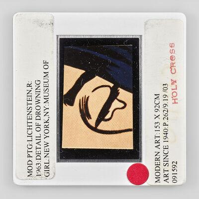 Sebastian Riemer, 'MOD PTG LICHTENSTEIN,R 1963 DETAIL OF DROWING GIRL NEW YORK,NY:MUSEUM OF MODERN ART:153 X 92CM ART SINCE 1940:P.262/9.19/03 091592 HOLY CROSS', 2020
