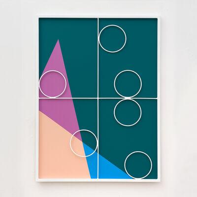 Przemek Pyszczek, 'Facade Painting III, CA', 2019