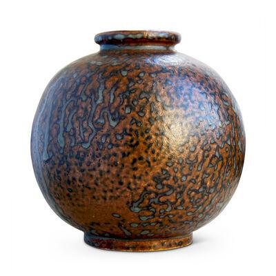 Arne Bang, 'Globe shaped vase by Arne Bang', 1930