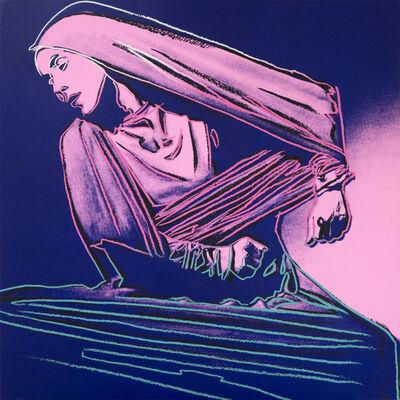 Andy Warhol, 'Lamentation #388 (from Martha Graham)', 1986