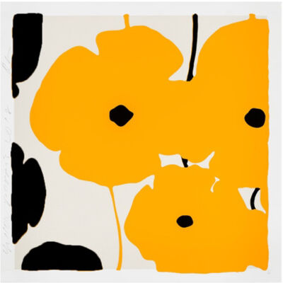 Donald Sultan, 'Untitled (Yellow)', 2019