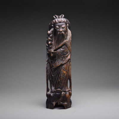 Unknown Chinese, 'Qing Sculpture of a Taoist Immortal', 1644-1911