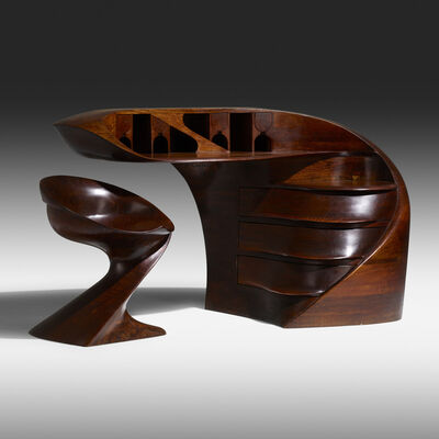 Michael Coffey, 'Early El Morro desk and chair', 1973