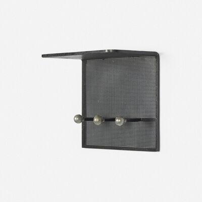Mathieu Matégot, 'wall-mounted coatrack', c. 1965
