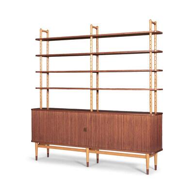 Arne Vodder, 'A cabinet with bookshelves', 1950's