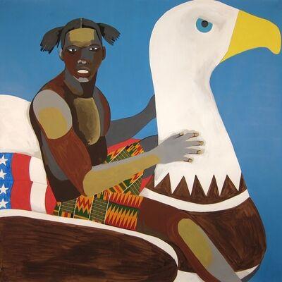 Derrick Adams, 'Floater No. 26 (Eagle)', 2016