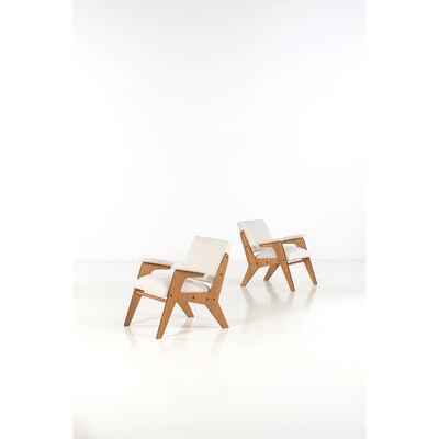 José Zanine Caldas, 'Pair of armchairs', 1950s