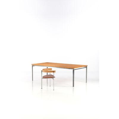 Poul Kjærholm, 'Table Model PK51, PK11 Model chair, desk table and chair', circa 1965