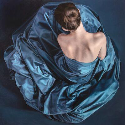Anne Marie Kornachuk, 'Blue Whirlpool', 2020