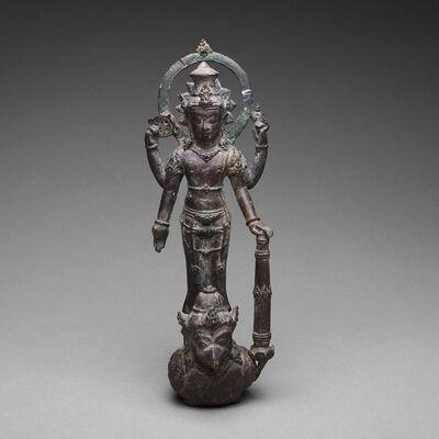 Unknown Indonesian, 'Javanese Bronze Sculpture of Vishnu Riding on Garuda', 900 AD to 1300 AD