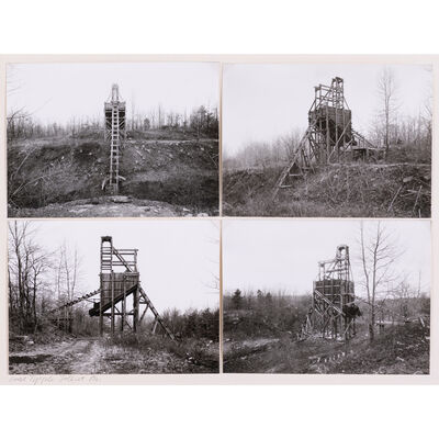Bernd and Hilla Becher, 'Coal tipple, Joliet, Pennsylvania', 1974