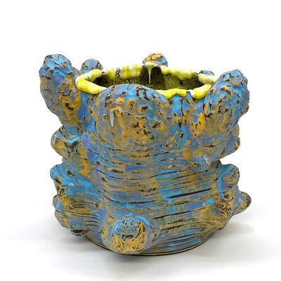 Vince Palacios, 'Blue and Yellow No1024', 2020