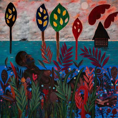 Jannis Varelas, 'Moon gazer and Lemon Trees', 2020