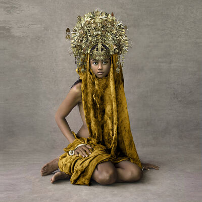 Fred Stichnoth, 'Young Woman with Marriage Ceremony Headpiece, Sunda Islands', 2013