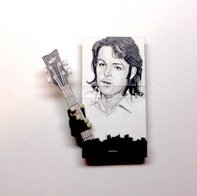 matchbox artists, 'Paul McCartney', 2019