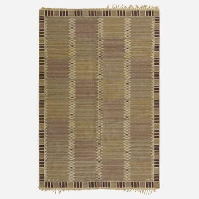 Barbro Nilsson, 'Salerno enkel flatweave carpet', 1948