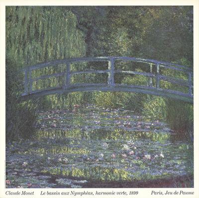 Claude Monet, 'Le Bassin Aux Nympheas, Harmonie Verte, 1989', 1987