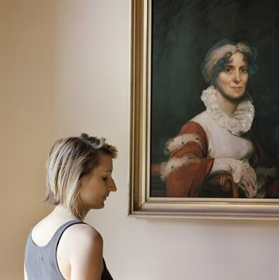 Frances F. Denny, 'Edith, with a portrait of her ancestor', 2013