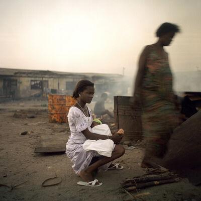 Denis Dailleux, 'La femme au bébé à Jamestown, Ghana', 2009