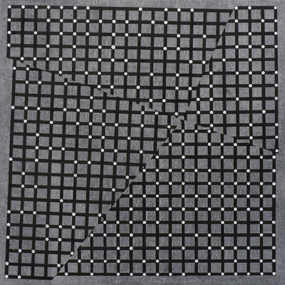 Christopher Iseri, 'Grids and Dots II (white)', 2016