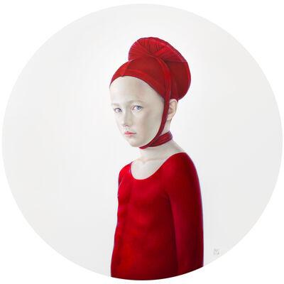 Salustiano, 'Jorge vestido de rojo', 2014