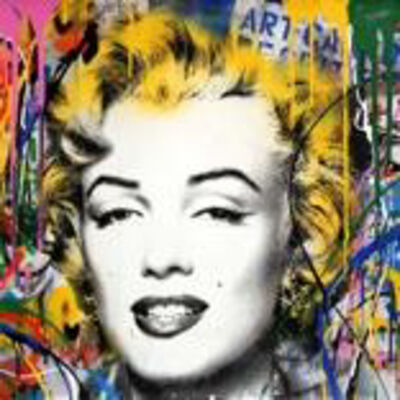 Mr. Brainwash, 'Marilyn', 2017