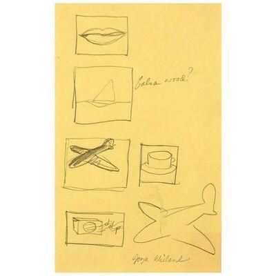 Joyce Wieland, 'Yellow Icons', ca. 1968