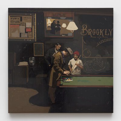 Matthew Benedict, 'Pool Sharks at the Safehouse', 2019