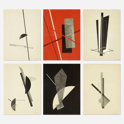 László Moholy-Nagy, 'Konstruktionen: Kestnermappe 6 (Constructions: Kestner Portfolio 6)', 1922-23