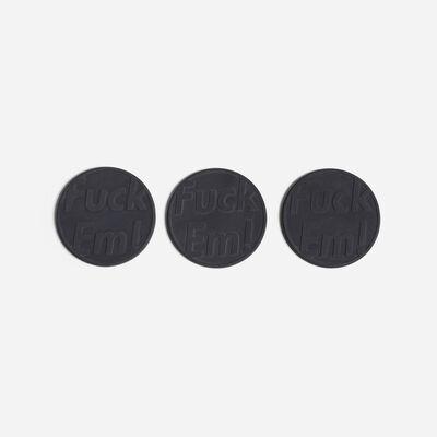 Supreme, 'Fuck'em coasters, set of three', 2014
