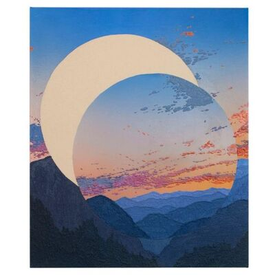 Saskia Fleishman, 'Blue Ridge Moon', 2020