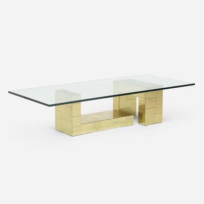 Paul Evans (1931-1987), 'Cityscape coffee table', c. 1975