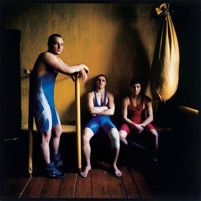 Michal Chelbin, 'Three Wrestlers', 2007